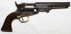 Colt Model 1849 .31 Cal Percussion Cap Revolver