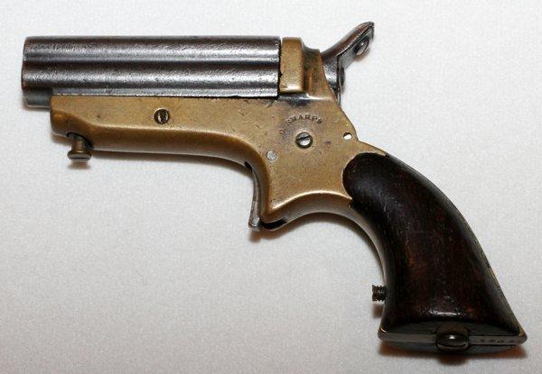 SHARPS 4 BARREL DERRINGER 'PEPPER BOX' 1859-1874 - 2