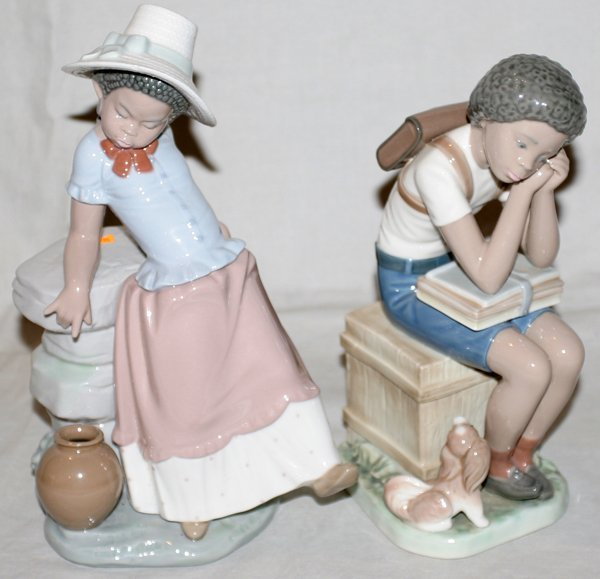 LLADRO BLACK LEGACY COLLECTION FIGURINES