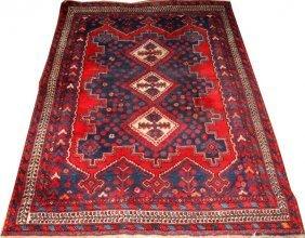 Iranian Hamadan Wool Rug