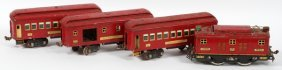 Lionel Standard Gauge Locomotive And Passenger Cars
