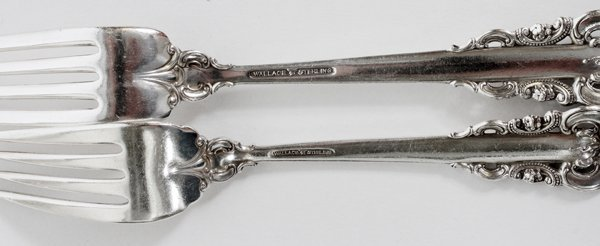 WALLACE 'GRANDE BAROQUE' STERLING FLATWARE SET - 4
