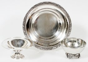 Reed & Barton 'medici' Sterling & Other Tableware