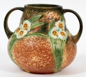 Roseville Jonquil Pottery Vase 1931
