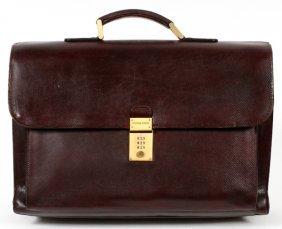 Bottega Veneta Vintage Leather Attache/briefcase