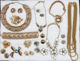 Trifari & Other Costume Jewelry C. 1940-1970