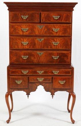 Century Furniture Co. Mahogany Highboy
