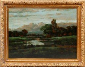 A. Wilson Oil On Canvas
