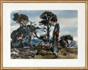 Maurice Logan Watercolor