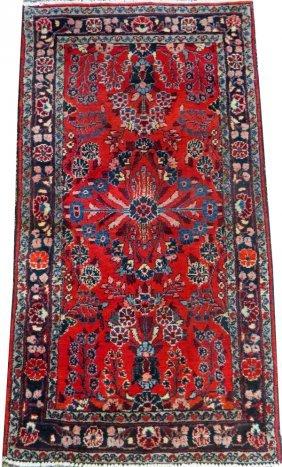 Hamadan/dergazine Persian Rug Early 20th C.