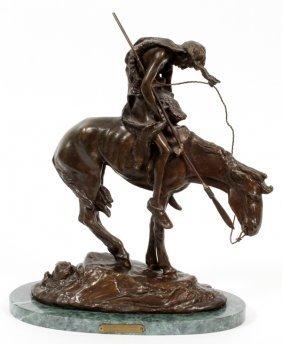 After James Earl Fraser Bronze Sculpture