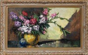 G. H. Williams Oil On Canvas Still Life