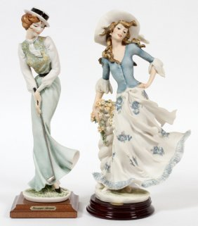 Armani Fashion Figurines Two