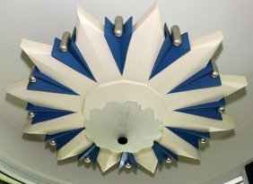 Contemporary Star Form Ceiling Lights
