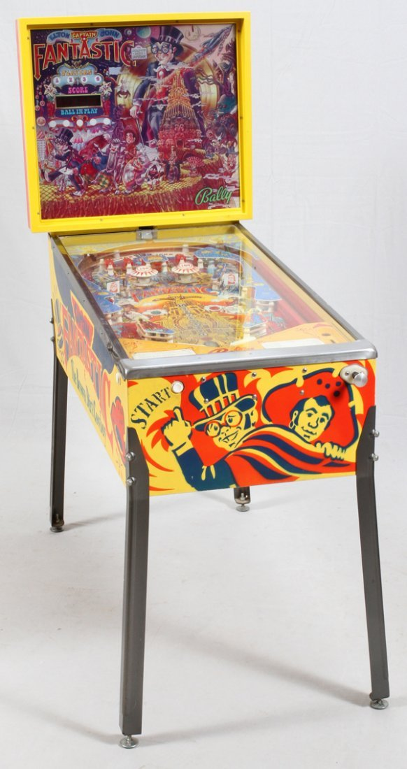 CAPTAIN FANTASTIC ELTON JOHN PINBALL MACHINE