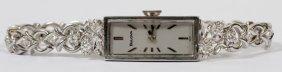 Bulova Lady's 0.40ct Diamond & 14kt Gold Watch