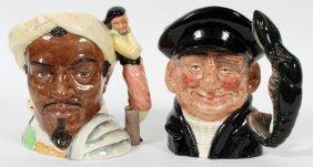 Royal Doulton Porcelain Character Jugs, Two