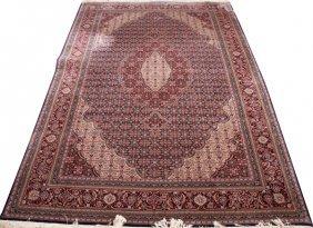 Hand Woven Bijar Design Wool Carpet