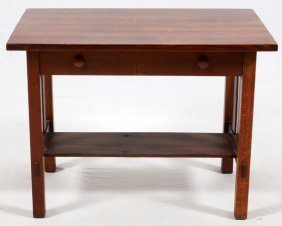 Stickley Bros. Grand Rapids Mission Oak Table