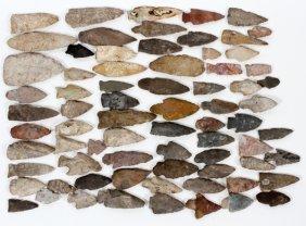Native American Stone Arrow Heads