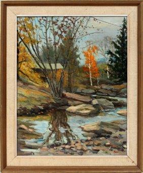 Roy Pauli Oil On Canvas
