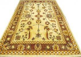 Indo Oushak Very Fine Carpet