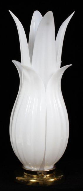 Rougier Tulip-form Acrylic Table Lamp