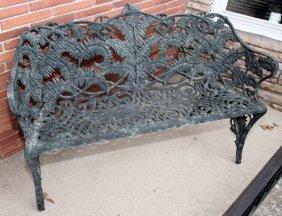Brown Jordan Cast Aluminum Fern Bench