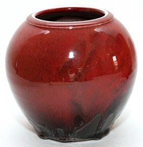 Michael Saul Glazed Pottery Vase 1992