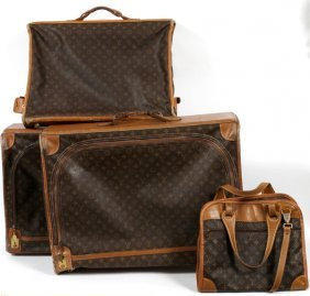 Louis Vuitton Monogram Canvas Soft-sided Luggage