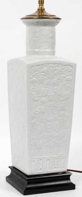 Modern White Porcelain Lamp
