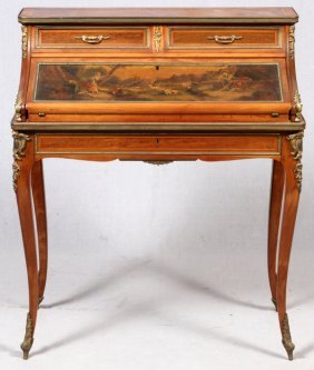 Vernis Martin Style French Lady's Desk 19th C.