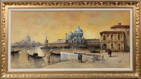 Antonio Devity Oil On Canvas