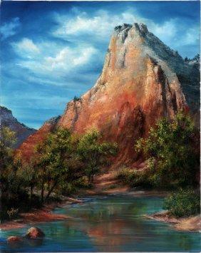 Joni Haws Oil On Canvas