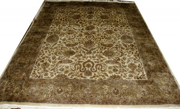 "030006: TABRIZ DESIGN CARPET 9'6""x7'10"""
