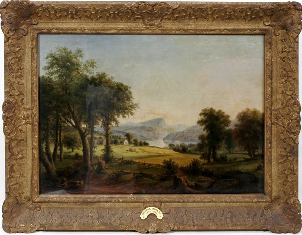 032018: AFTER GEORGE INNESS, OIL ON CANVAS, ARCADIA