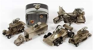 CAST METAL CIGARETTE LIGHTERS CARS ETC