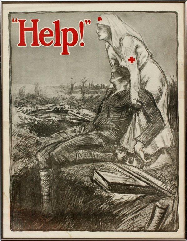 WWI PROPAGANDA POSTER 1918