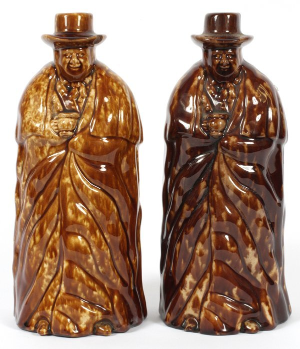 LYMAN FENTON & CO. BENNINGTON POTTERY BOTTLES