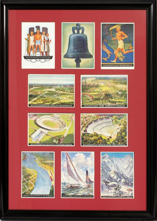 1936 OLYMPICS OFFICIAL POSTCARD COLLECTION