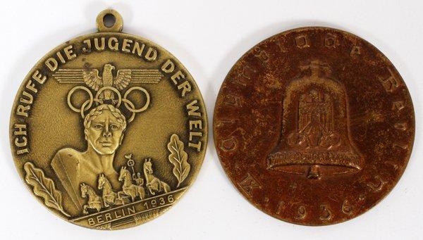 1936 BERLIN OLYMPICS PARTICIPATION MEDALS 1936