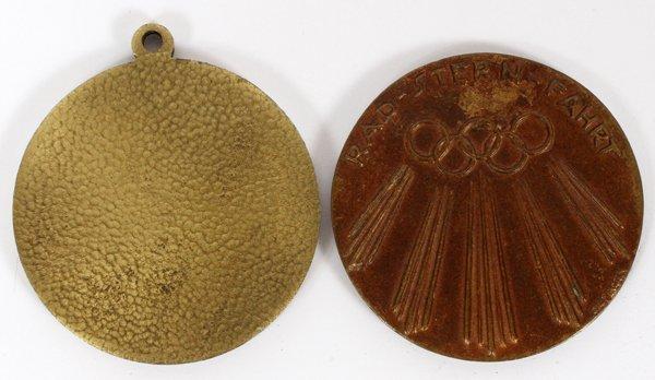 1936 BERLIN OLYMPICS PARTICIPATION MEDALS 1936 - 2