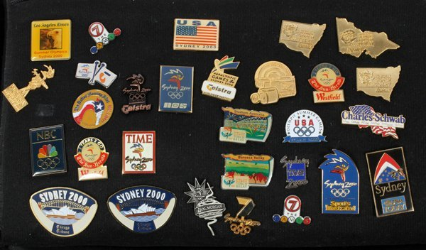 SUMMER AND WINTER OLYMPIC LAPEL PIN COLLECTION