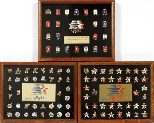 1984 LOS ANGELES OLYMPIC PIN COLLECTION