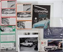 CHEVROLET CORVETTE PUBLICITY PHOTOS