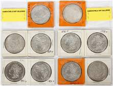 U.S. MORGAN LIBERTY-HEAD $1 STERLING SILVER COINS