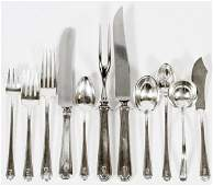 TOWLE 'LADY CONSTANCE' STERLING FLATWARE SET