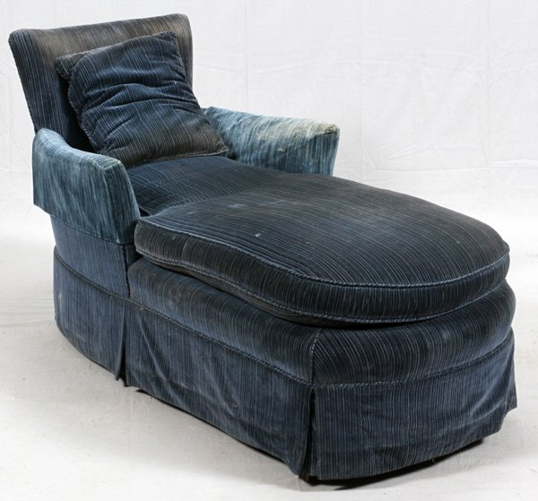UPHOLSTERED CHAISE LOUNGE