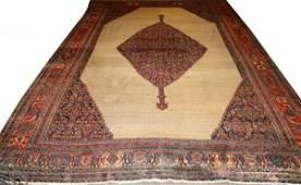 PERSIAN BIJAR HAND WOVEN WOOL CARPET