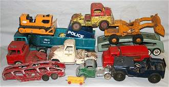 040058 WYANDOTTE TONKA TOY METAL CAR  TRUCK GROUP